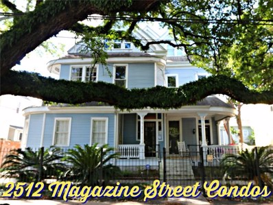 2512 Magazine Street UNIT G, New Orleans, LA 70130 - #: 2213960