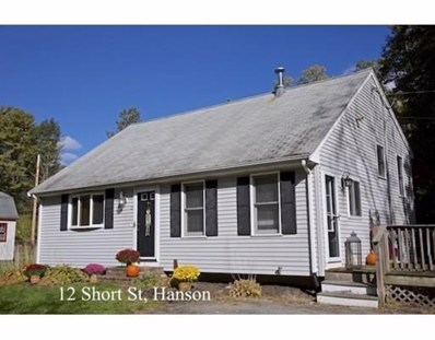 12 Short St, Hanson, MA 02341 - #: 72415835