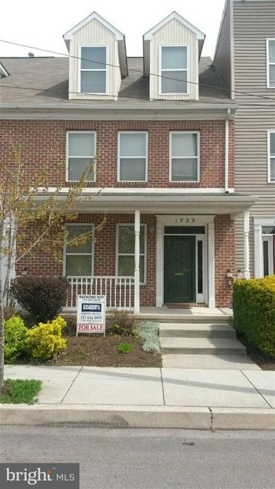 1729 N 4TH Street, Harrisburg, PA 17102 - #: 1000103062