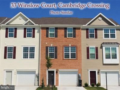 33 Winslow Court UNIT 92, Gettysburg, PA 17325 - #: 1000444080