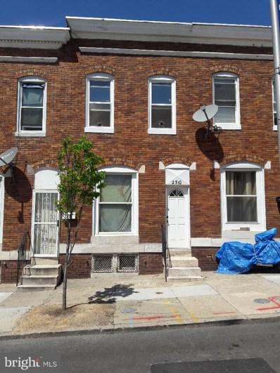 2310 Fayette Street W, Baltimore, MD 21223 - #: 1000450180