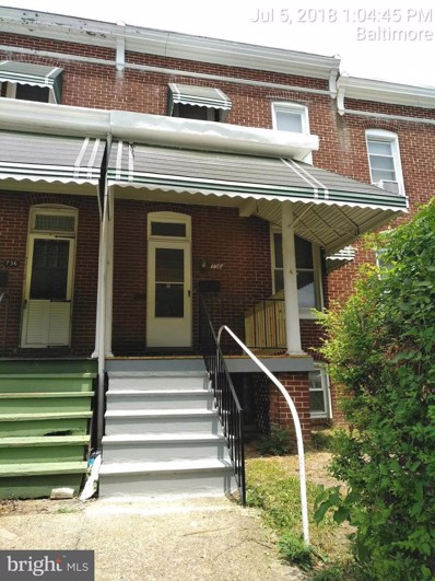 738 36TH Street, Baltimore, MD 21218 - #: 1002038436