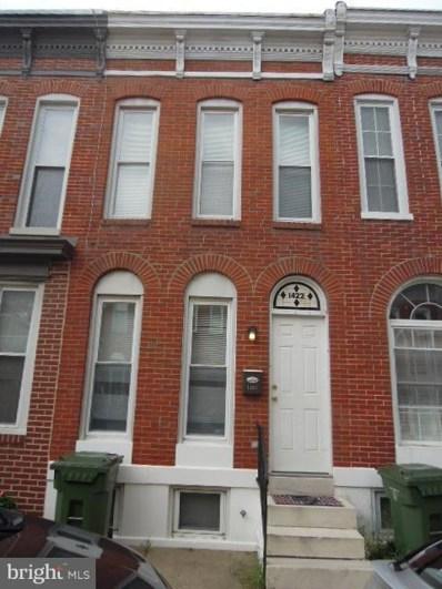 1422 Clarkson Street, Baltimore, MD 21230 - #: 1002776410