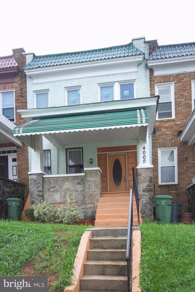 4009 Fairview Avenue, Baltimore, MD 21216 - #: 1003465180
