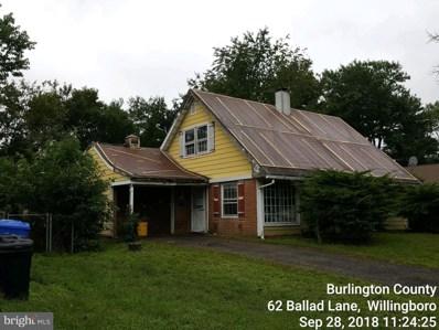 62 Ballad Lane, Willingboro, NJ 08046 - #: 1007544104
