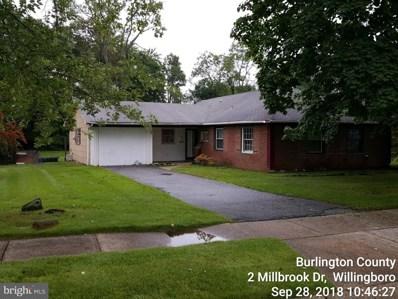 2 Millbrook Drive, Willingboro, NJ 08046 - #: 1009979904