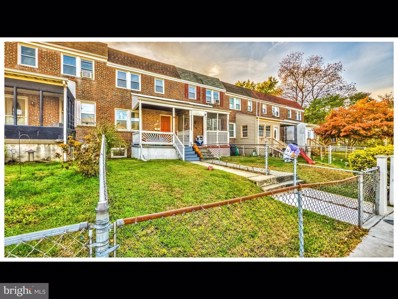 233 W Meadow Road, Baltimore, MD 21225 - #: MDAA418848