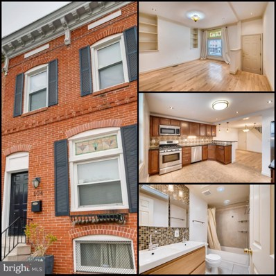 104 N Montford Avenue, Baltimore, MD 21224 - #: MDBA436164