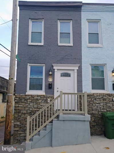 413 Mcallister Street, Baltimore, MD 21202 - #: MDBA462566