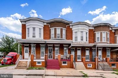 2954 Presstman Street, Baltimore, MD 21216 - #: MDBA467266