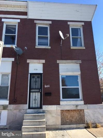 601 N Kenwood Avenue, Baltimore, MD 21205 - #: MDBA494198