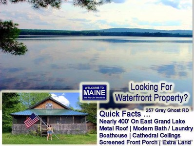257 Grey Ghost Road, Forest City Twp, ME 04413 - #: 1456666