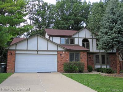 2821 Steamboat Springs Dr, Rochester Hills, MI 48309 - #: 21484220