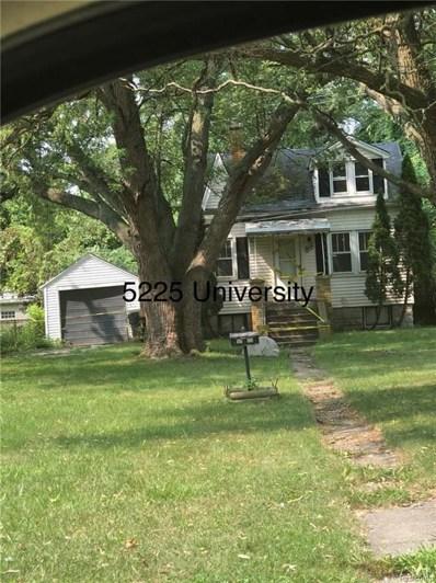 5225 University Plc E, Detroit, MI 48224 - #: 21491605