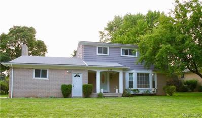 898 Lynndale Dr, Rochester Hills, MI 48309 - #: 21493656