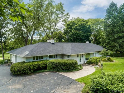 2840 W Hickory Grove Rd, Bloomfield Hills, MI 48302 - #: 21505551