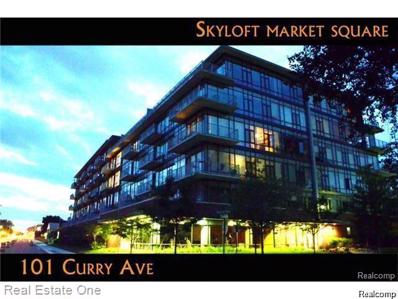 101 Curry Ave UNIT Unit#510, Royal Oak, MI 48067 - #: 21510393
