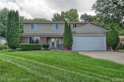 6581 Beverly Crest Dr, West Bloomfield, MI 48322 - #: 21515305