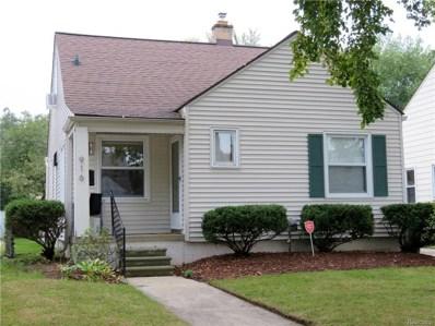 916 Edison Ave, Royal Oak, MI 48067 - #: 21522910