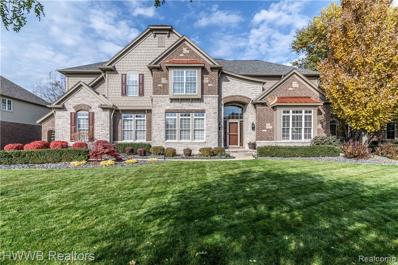 48547 Wicker Creel Dr, Northville, MI 48168 - #: 21523158