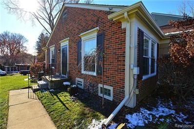 1155 Pine Ridge Crt, Rochester Hills, MI 48306 - #: 21528781