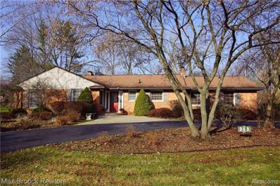 969 Hickory Heights Dr, Bloomfield Hills, MI 48304 - #: 21532231