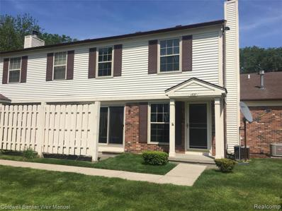 1537 Dover Hill N, Walled Lake, MI 48390 - #: 21609666