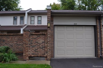 333 Willow Grove Ln, Rochester Hills, MI 48307 - #: 21657173