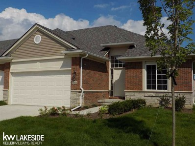 49400 Chapel Hill UNIT UNIT # >, Shelby Twp, MI 48315 - #: 31361110