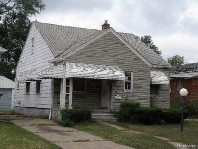 18855 Bloom St, Detroit, MI 48234 - #: 40017625