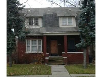 1371 Seward Street, Detroit, MI 48202 - #: 216118776