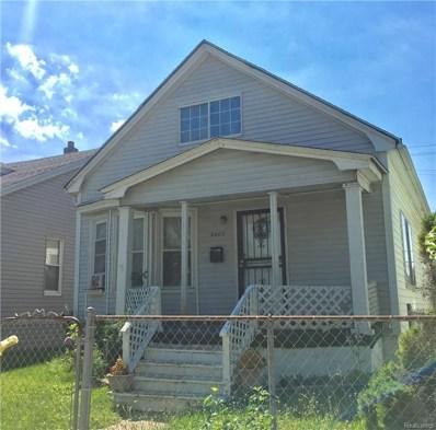 8403 Whittaker Street, Detroit, MI 48209 - #: 218061379