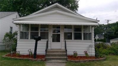23465 Battelle Avenue, Hazel Park, MI 48030 - #: 218065301