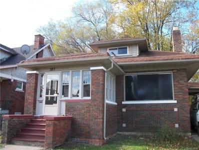 383 Chalmers Street, Detroit, MI 48215 - #: 218069022