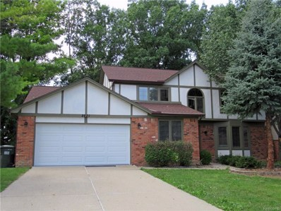 2821 Steamboat Springs Drive, Rochester Hills, MI 48309 - #: 218073558