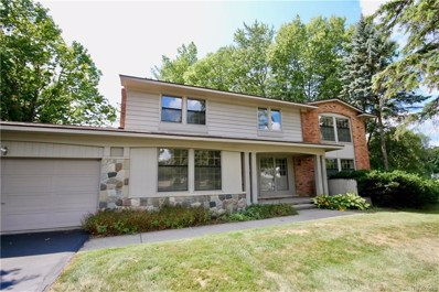 4812 S Valleyview Road, West Bloomfield Twp, MI 48323 - #: 218080156