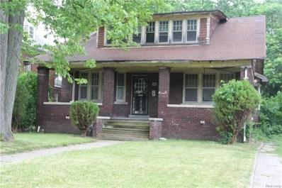 3466 Burns Street, Detroit, MI 48214 - #: 218083689