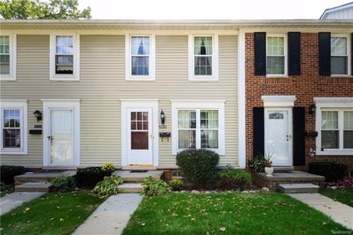 36520 Park Place Drive, Sterling Heights, MI 48310 - #: 218091536