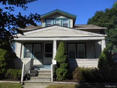 156 Gallup Street, Mount Clemens, MI 48043 - #: 218093294