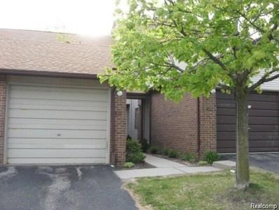 6600 Ridgefield Circle UNIT 203, West Bloomfield Twp, MI 48322 - #: 218101052