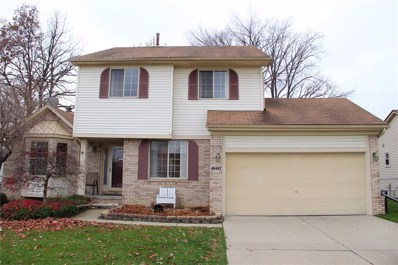 48497 Shady Glen Drive, Chesterfield Twp, MI 48051 - #: 218111727