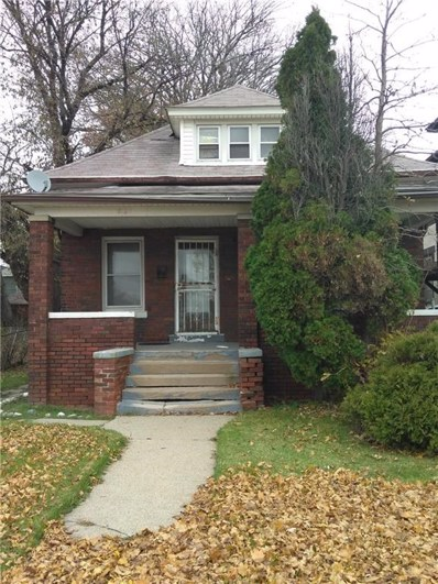 5768 Burns Street, Detroit, MI 48213 - #: 218117075