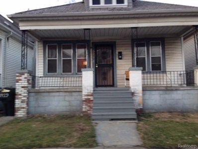 2439 Burnside Street, Detroit, MI 48212 - #: 218119345