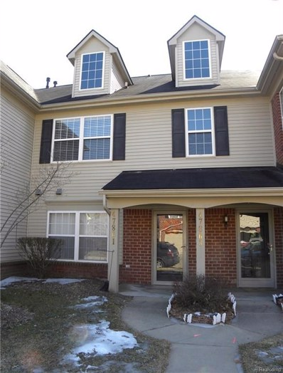 47861 Cardiff Avenue UNIT 95, Canton Twp, MI 48188 - #: 219020727