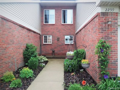 2259 Crystal Crossing Drive UNIT 10, Marion Twp, MI 48843 - #: 219025746