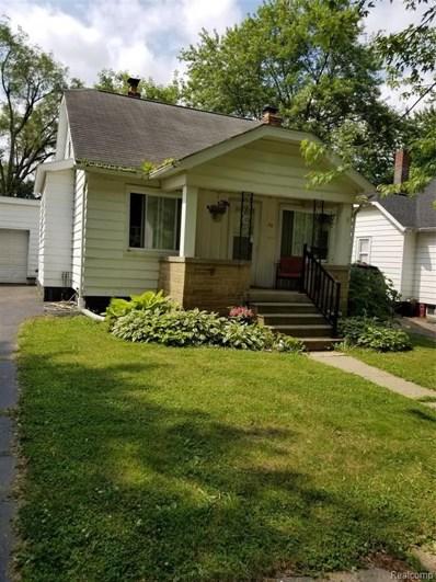 33 W Colgate Avenue, Pontiac, MI 48340 - #: 219063824