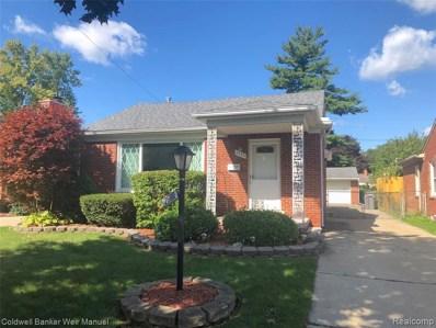 2600 Edgewood St, Dearborn, MI 48124 - #: 219091108