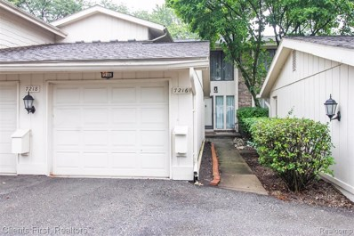 7216 Bridge Way Way, West Bloomfield Twp, MI 48322 - #: 219102534