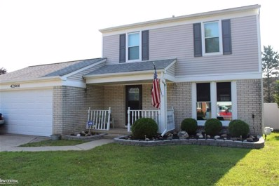 42944 Pheasent Run, Sterling Heights, MI 48313 - #: 58031356230