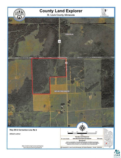 Hwy 29 Hwy 29, Meadowlands, MN 55765 - #: 6090067